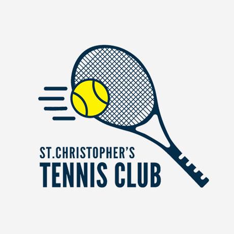 St. Christopher's Tennis Club logo